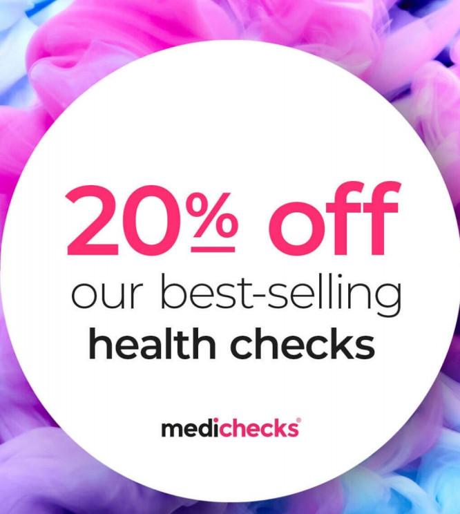 Medichecks 20% Off