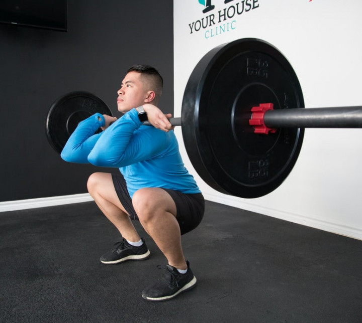 Exercises To Increase Testosterone Naturally - Squats