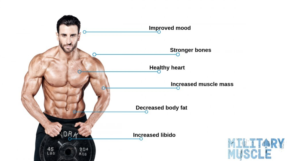 The Military Muscle Testosterone Booster Health Benefits