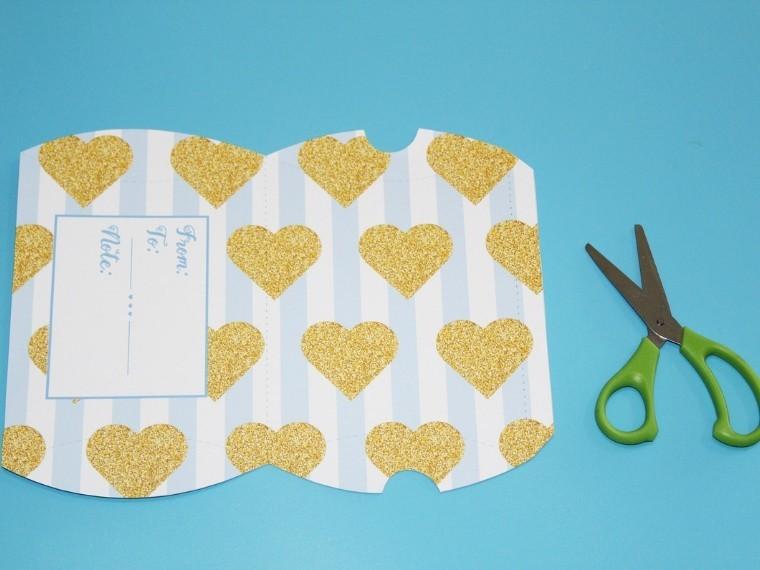 valentines day box Craft instructions