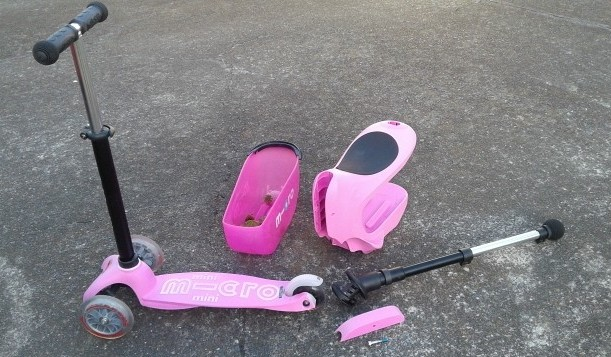 Micro Pink Mini 2 Go Scooter