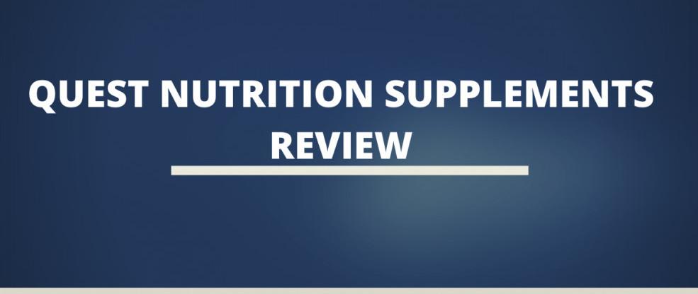 Quest Nutrition Supplements Review