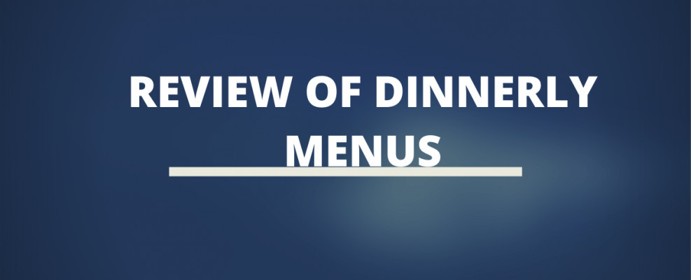 Review Of Dinnerly Menus