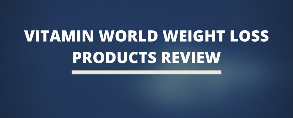 Vitamin World Weight Loss Products Review