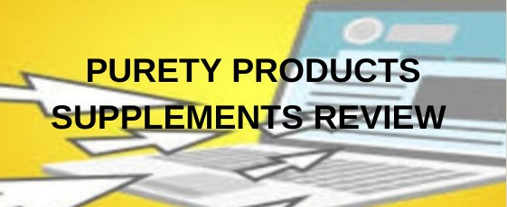 Purity Products supplements review