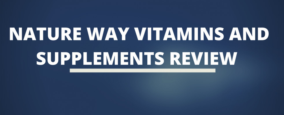 Nature Way vitamins and supplements review