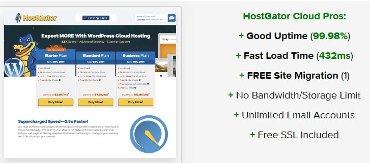 The best web hosting companies