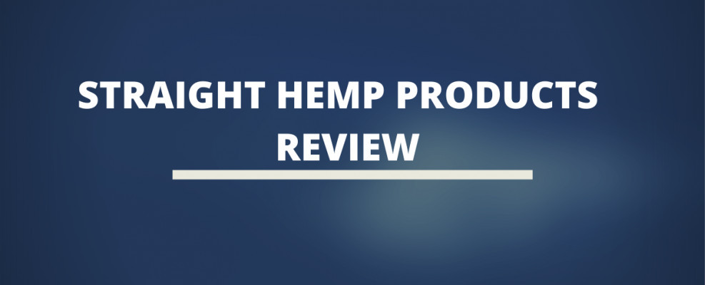 Straight Hemp Products Review