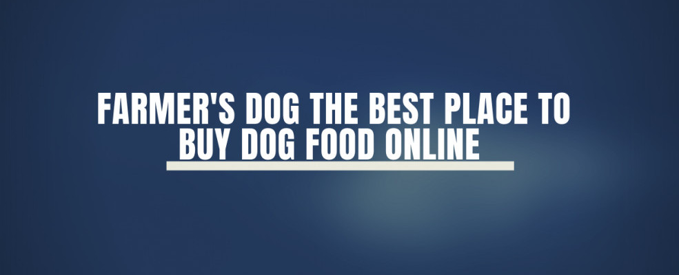 Farmer's Dog The Best Place To Buy Dog Food Online