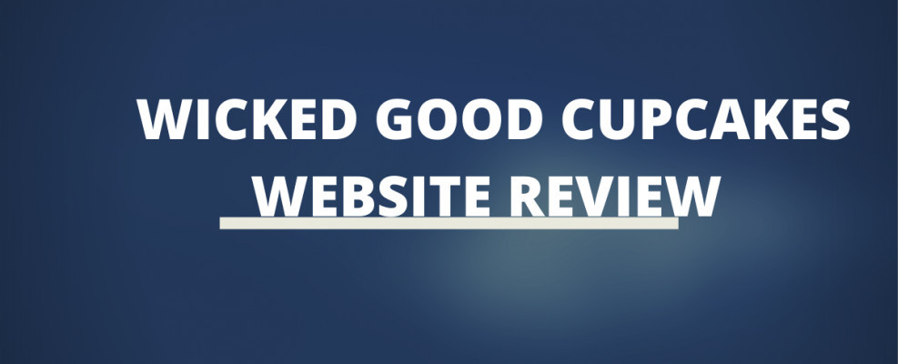 Wicked Good Cupcakes Website Review