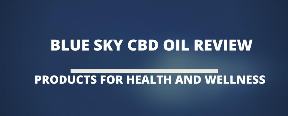 Blue Sky Cbd Oil Review