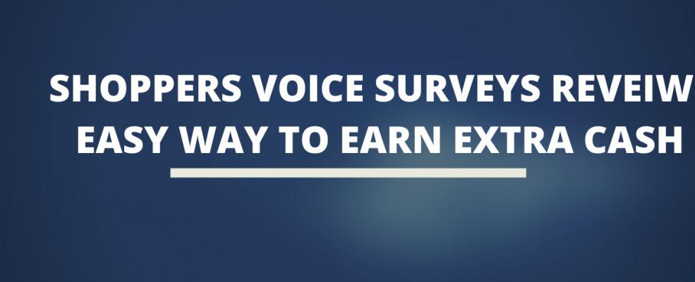 the Shoppers Voice Surveys Review