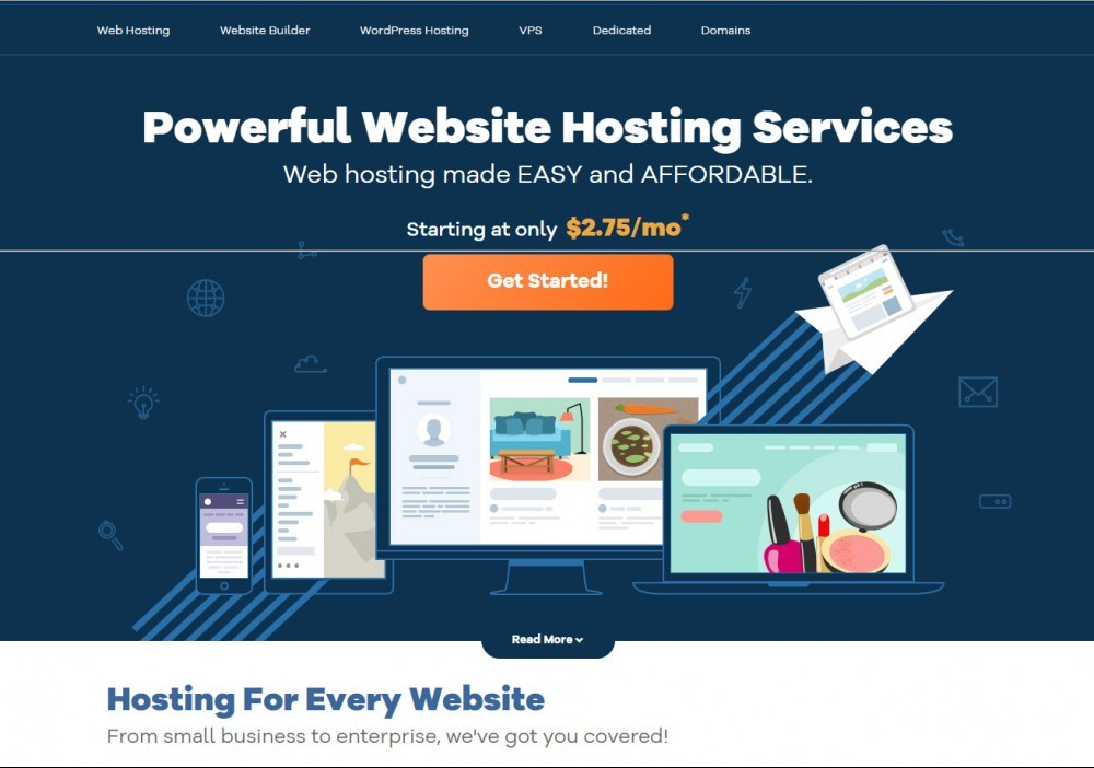 what's the best web hosting company