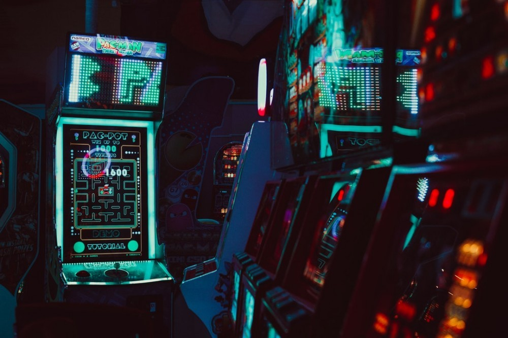 Old arcade games