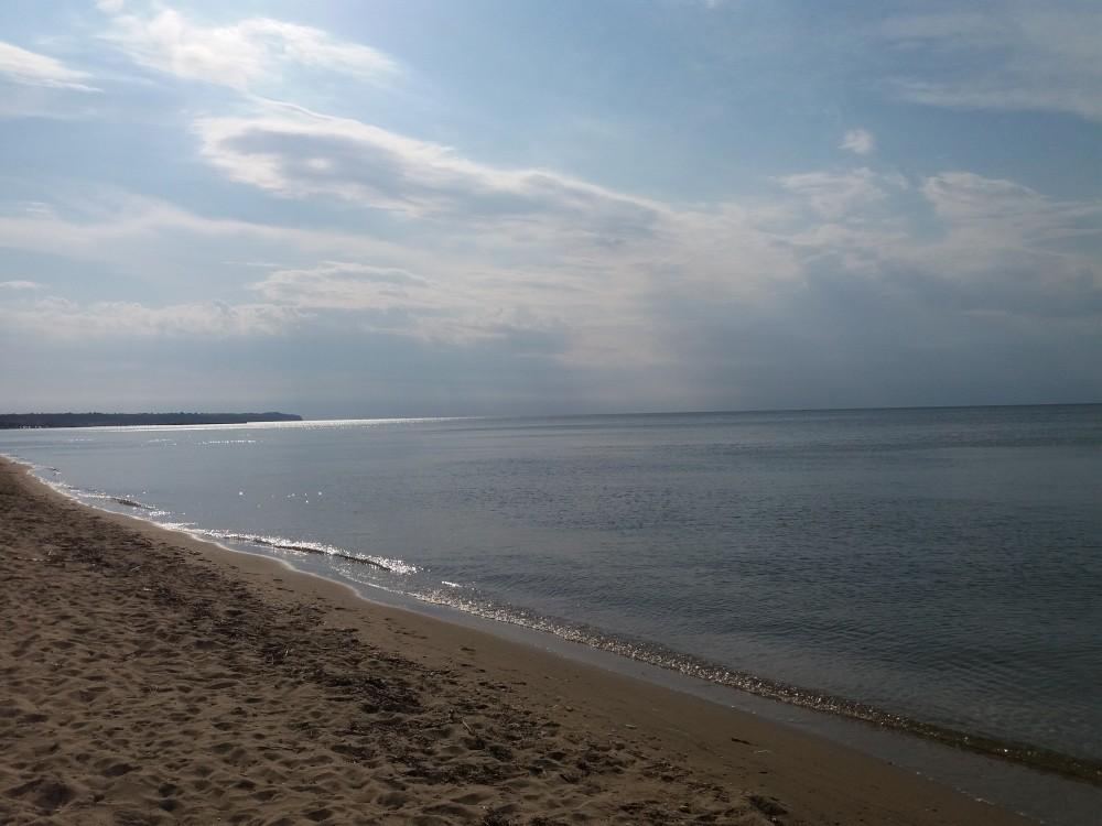 Beachline in daylight