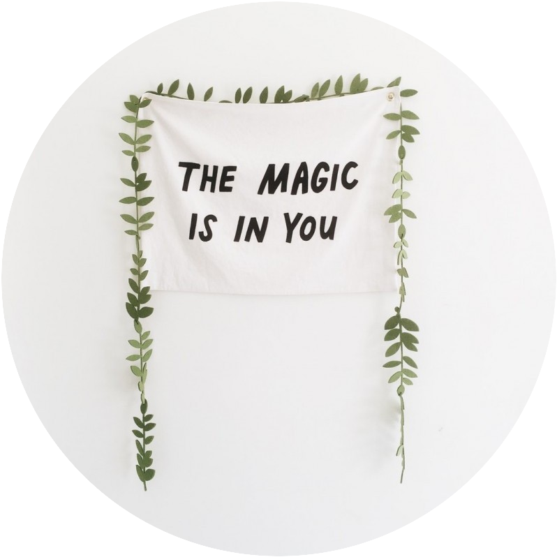 The magic is in you banner