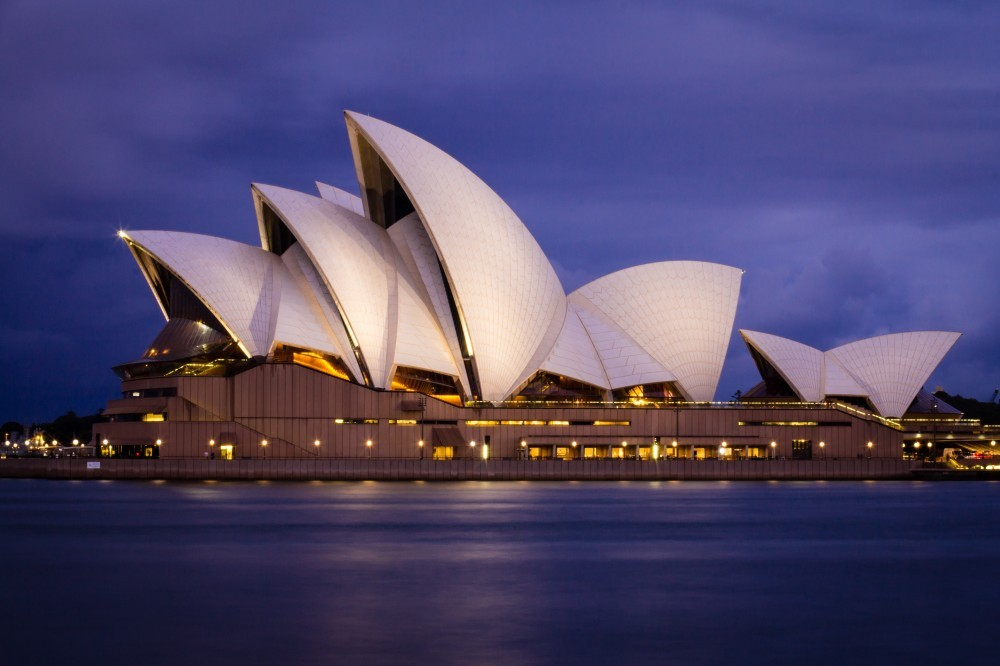 Geography Songs CD Sydney Opera House holger-link-688101-unsplash