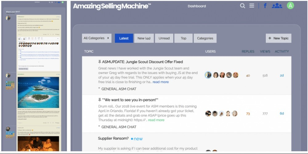 Amazing Selling Machine Community