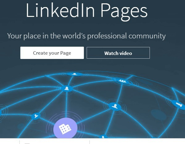 LinkedIn Business Pages
