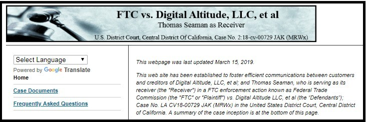 Federal Trade Commission Vs Digital Altitude