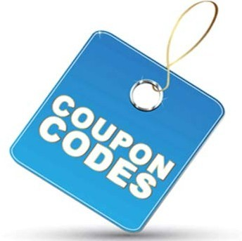Blue coupon