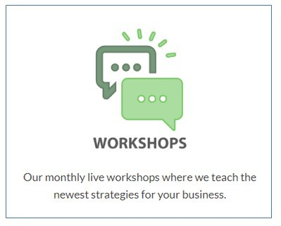 An Online Marketing Classroom Review - Workshops