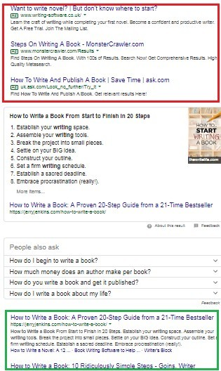 How to make money from a website for free - search engine results for 'how to write a book'