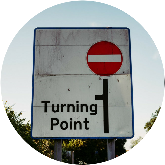 change, different, turning point