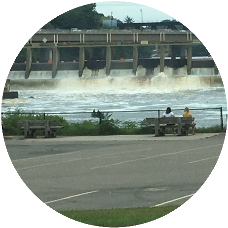 Dam on the Wisconsin River