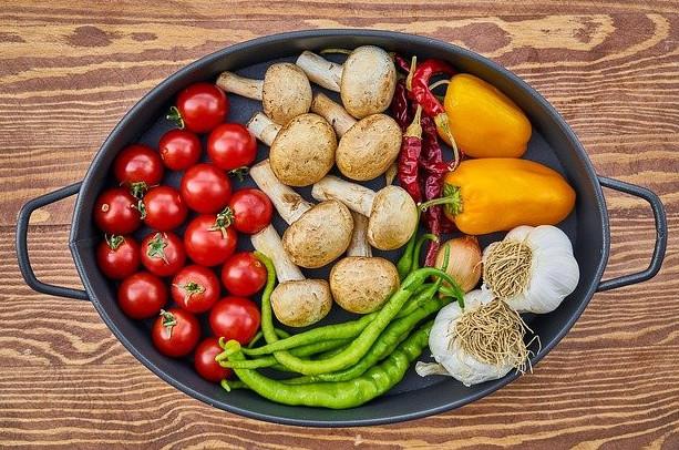 veggies, vegetables
