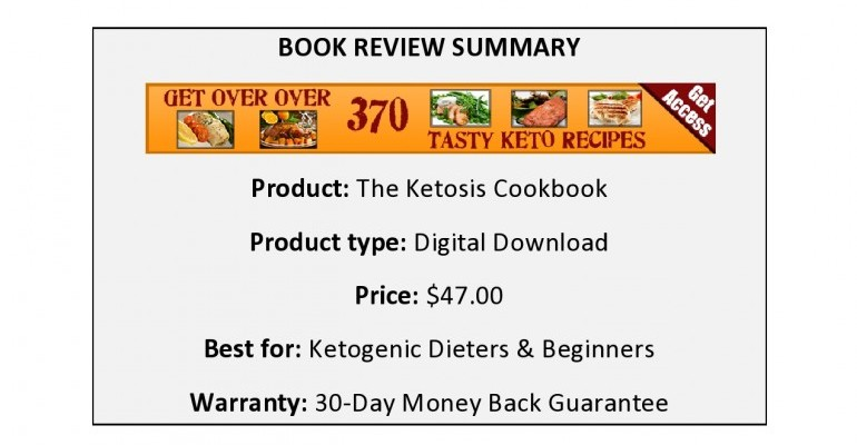 The Ketosis Cookbook Review
