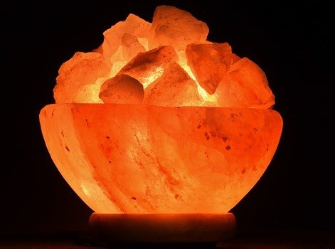 salt lamp bowl