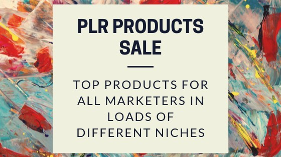 PLR Products Sale image