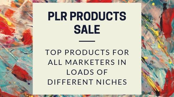 PLR Products Sale image