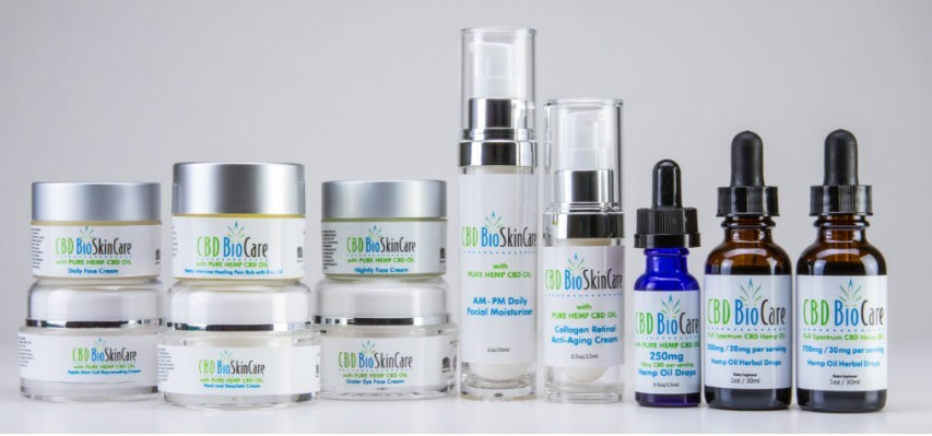 cbd bio care range