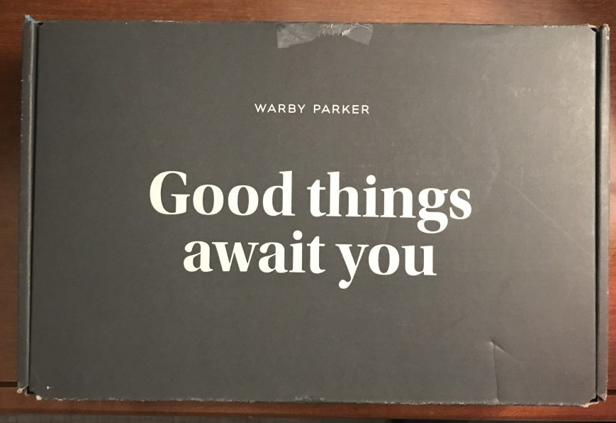 Warby Parker Home Try-On Kit