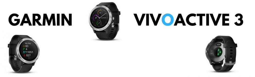 Garmin Vivoactive 3 banner