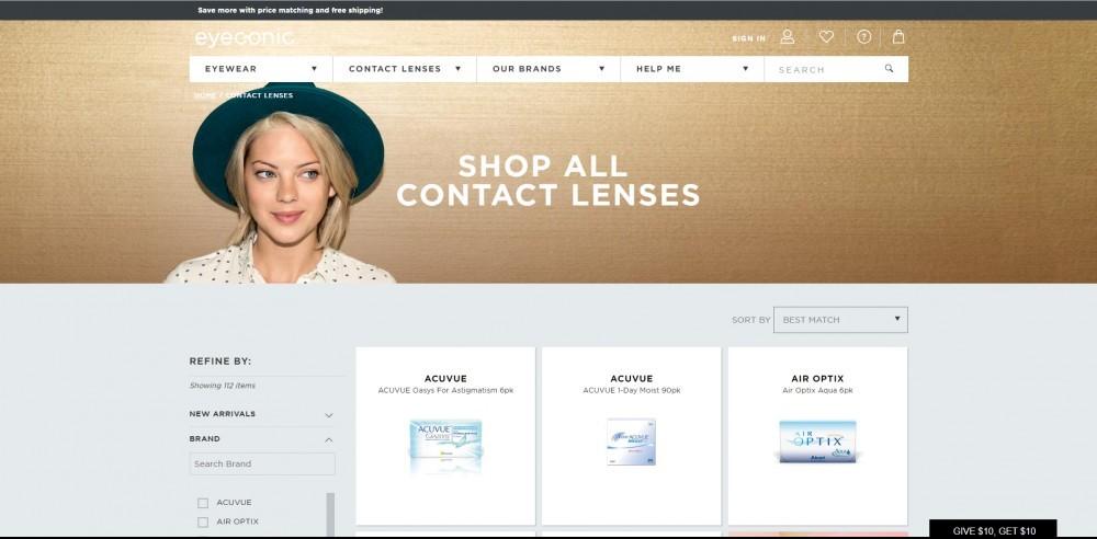 Eyeconic Homepage