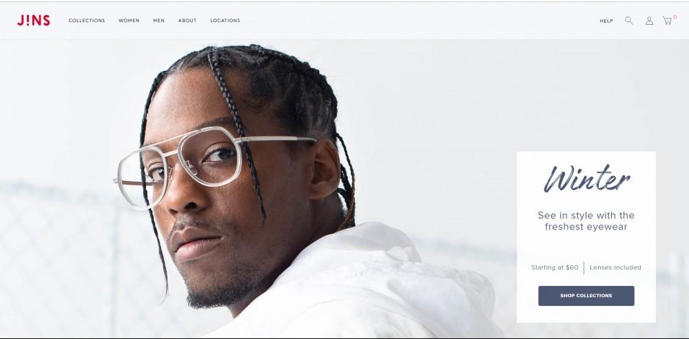 JINS Homepage