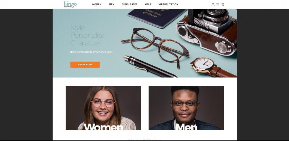 Liingo Homepage