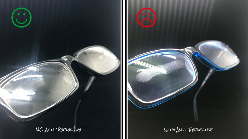 90c71db55c3 Cosmetic – People don t realize this but when you take a photo if you have  glasses without anti-reflective coating there is a chance that the glare  could be ...