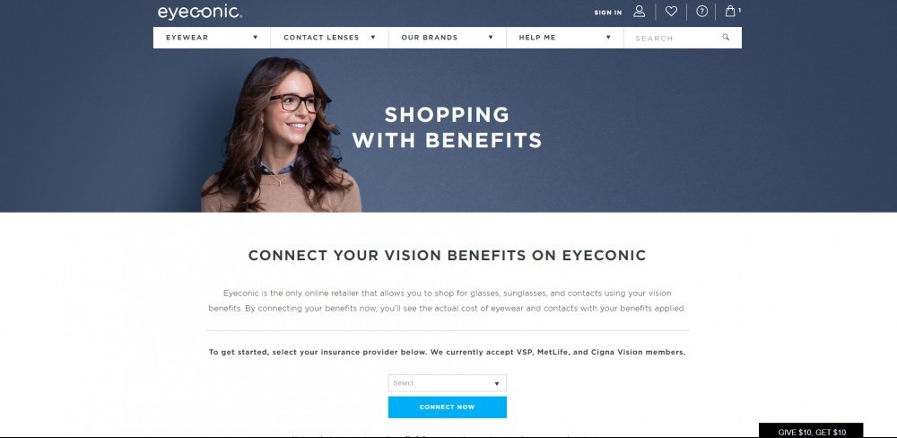Eyeconic Insurance Page