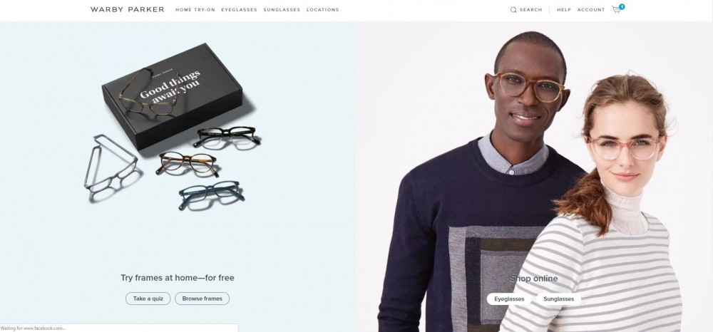 91af53e9f058 ... you must be checking out some reviews for Warby Parker to see if they  are actually a reputable retailer that you can safely order prescription  eyewear ...