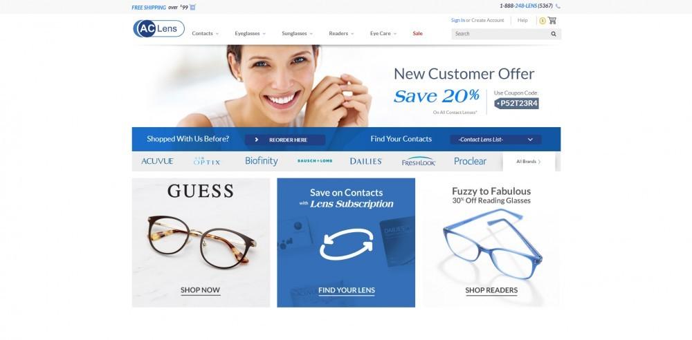 AC Lens Homepage