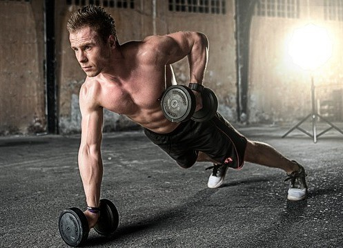 "<img src = ""man exercising with dumb bells.jpg"" alt=""the health benefits of daily exercise""/>"