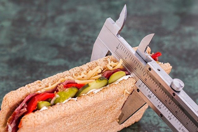 "<img src=""a sandwhich being measured.jpg"" alt=""how do i lose weight""/>"