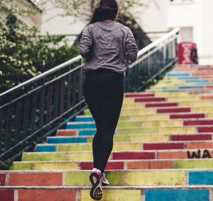 """<img src=""""woman running up stairs.jpg"""" alt=""""how to train your body""""/>"""