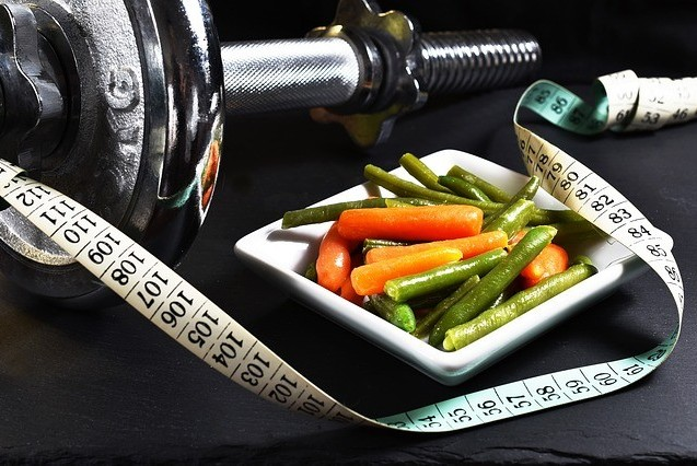 "<img src = ""weight, tape measure and food.jpg"" alt=""the health benefits of daily exercise""/>"