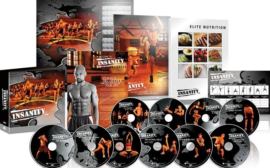 Insanity High Intensity Interval Training package