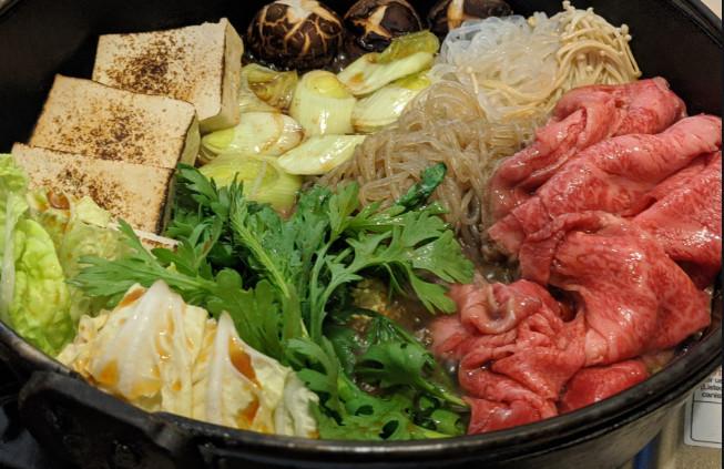 one-pot sukiyaki